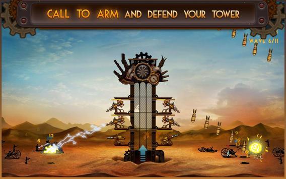Steampunk Tower screenshot 1