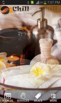 Chill Thai massage poster