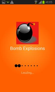 Bomb Explosions poster