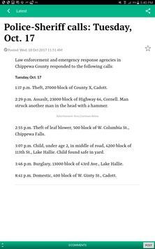 Chippewa Herald screenshot 5
