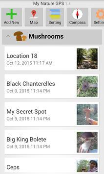 My Nature GPS screenshot 2