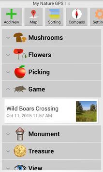 My Nature GPS screenshot 6