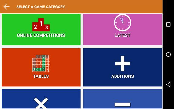 Mental Maths Mundial screenshot 9