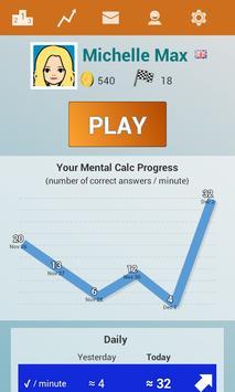 Mental Maths Mundial screenshot 1