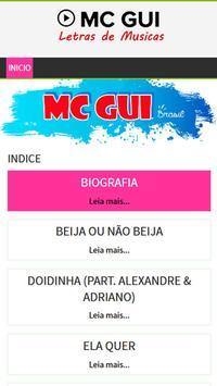 Letras de Mc Gui poster