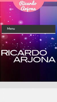 Letras de Ricardo Arjona poster