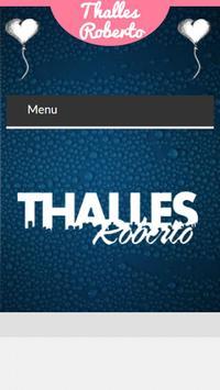 Letras de Thalles Roberto poster