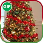 Christmas Greeting GIF icon