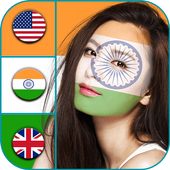 Flag On Face Photo Booth icon