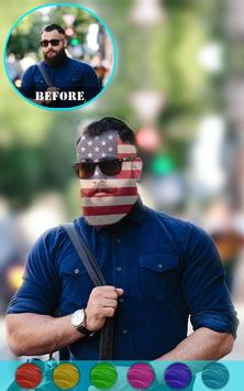 Flag On Face Photo Booth apk screenshot