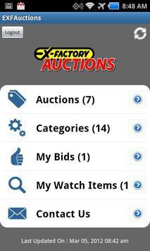 EXF-Auctions screenshot 1