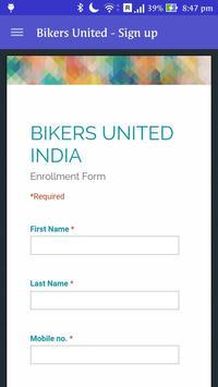 Bikers United INDIA [BETA] apk screenshot