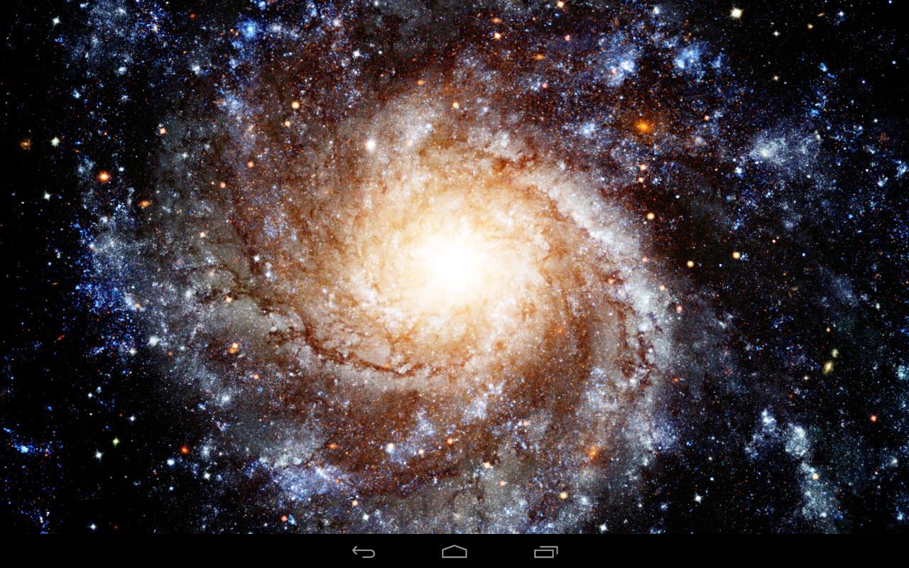 Galáxia Papel De Parede Para Android