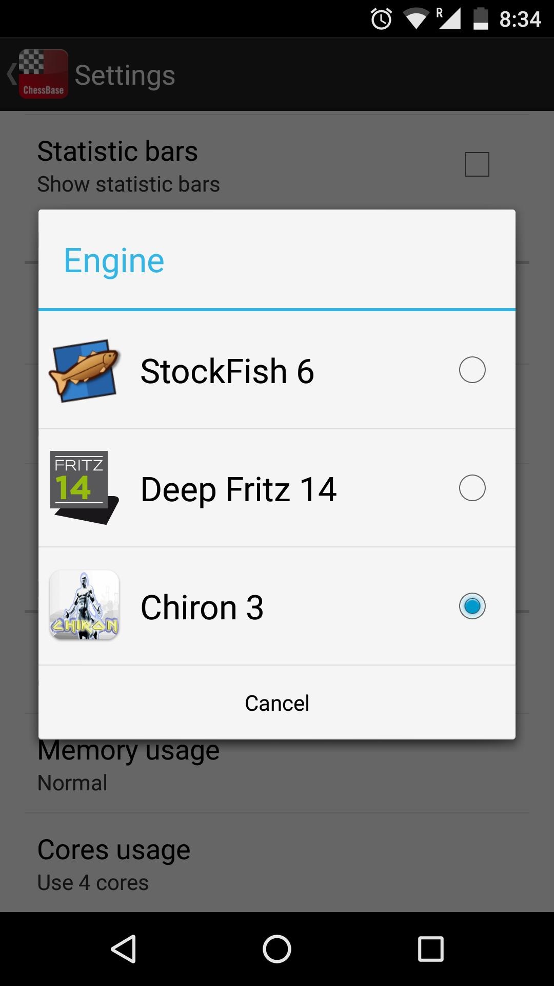 Chiron 3 Chess Engine for Android - APK Download