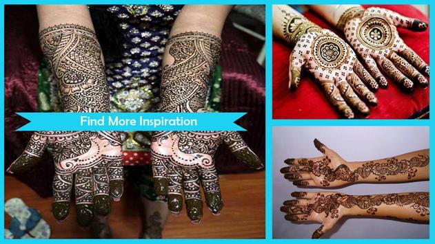 Amazing Brides Mehndi Design poster
