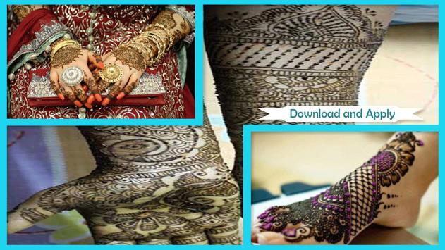 Amazing Brides Mehndi Design apk screenshot