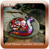 Cool Mosaic Garden Decoration Ideas icon