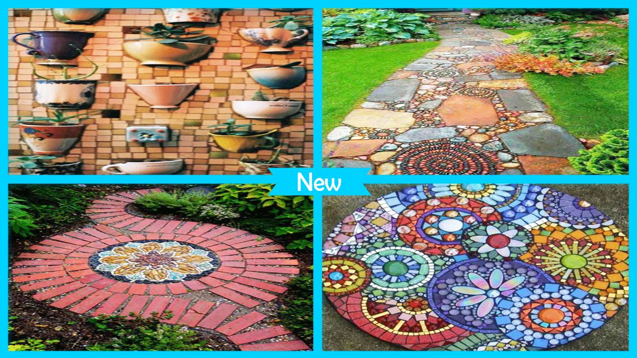 Cool Mosaic Garden Decoration Ideas poster