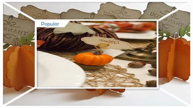 Cute Thanksgiving Dinner Place Card Ideas screenshot 2