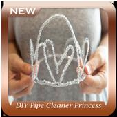 DIY Pipe Cleaner Princess Tutorials icon