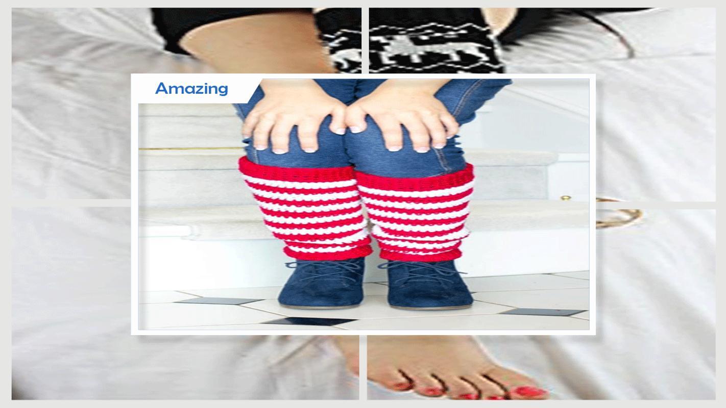 Patrón de calentador de pierna Easy Crochet Descarga APK - Gratis ...