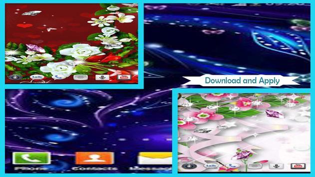 Luminous Flower Wallpaper screenshot 1