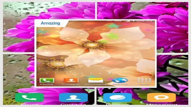 Luminous Flower Wallpaper screenshot 3