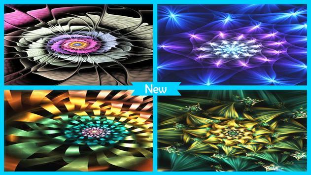 Luminous Flower Wallpaper screenshot 4