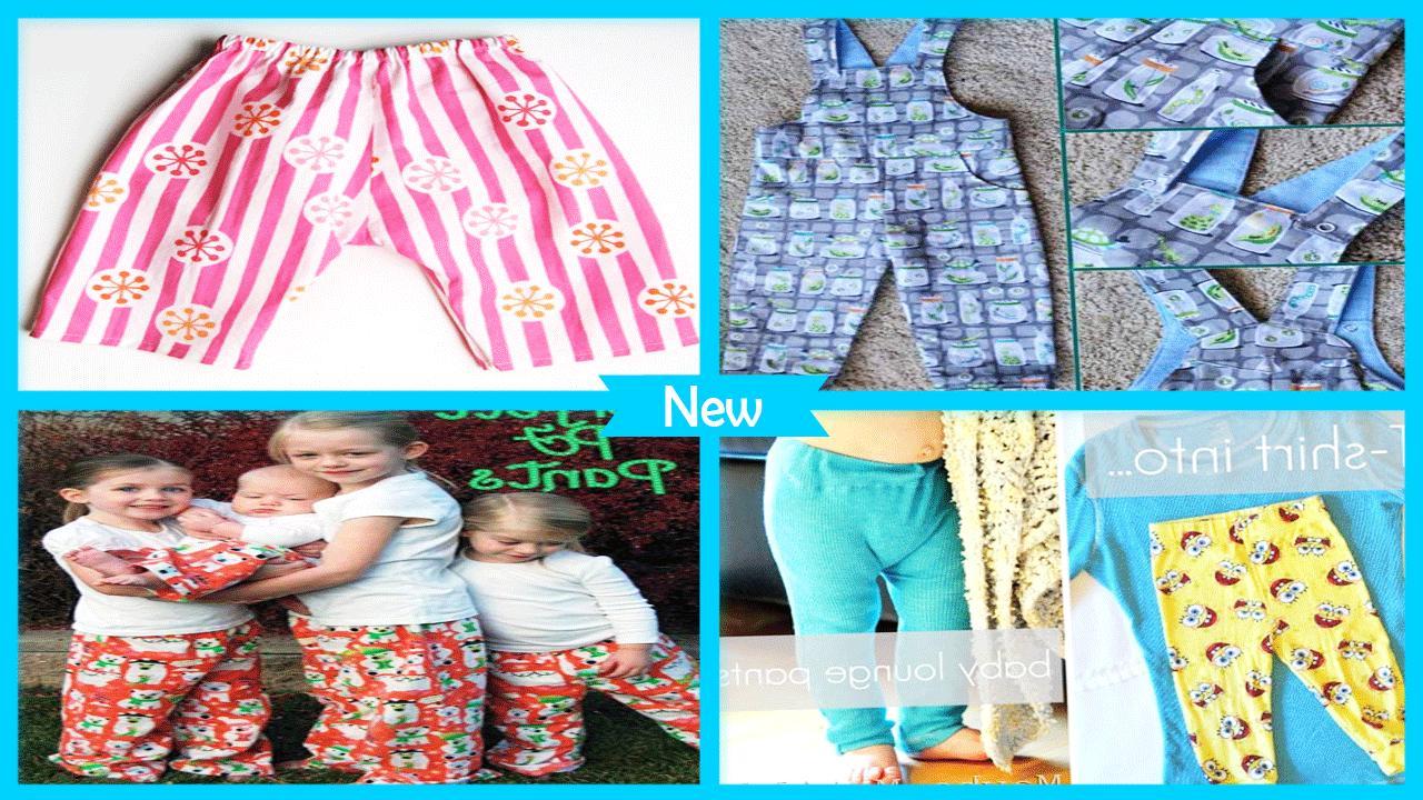 Sew Easy Baby Pajama Pants poster