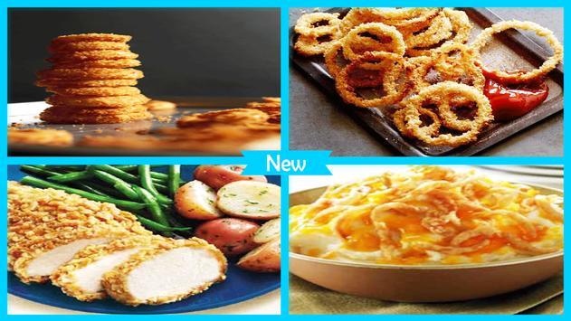 Super Crunchy Fried Onion Recipe apk screenshot