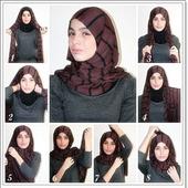 Tutorial Hijab Style icon