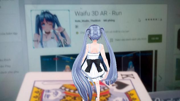 Waifu 3D AR Show poster