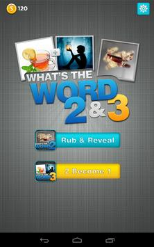 What's The Word 3 in 1 poster