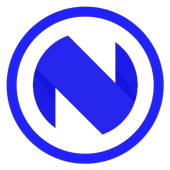 Blue-N icon