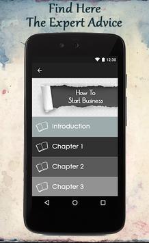 How To Start Business screenshot 1