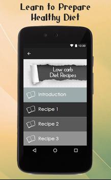 Low Carb Diet Recipes Guide screenshot 1