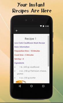 Low Carb Diet Recipes Guide screenshot 2