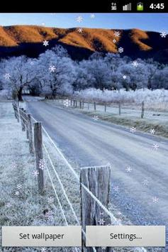 Winter Miracle: Live Wallpaper screenshot 1