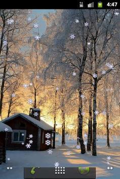 Winter Miracle: Live Wallpaper screenshot 3