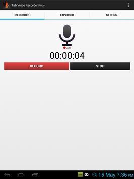 Tab Voice Recorder Pro+ screenshot 5