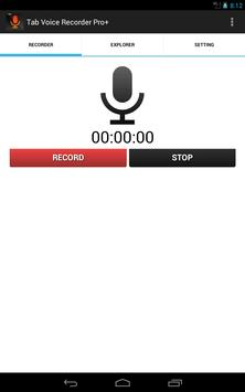 Tab Voice Recorder Pro+ screenshot 6