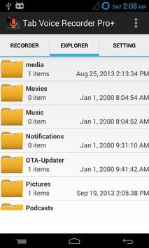 Tab Voice Recorder Pro+ screenshot 3