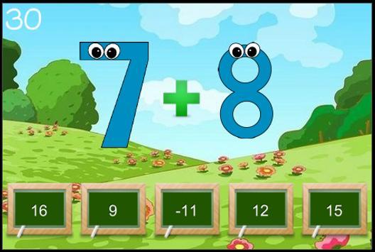 Simple Math for Kids screenshot 1