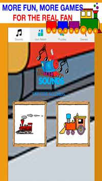train games for kids under 2 poster