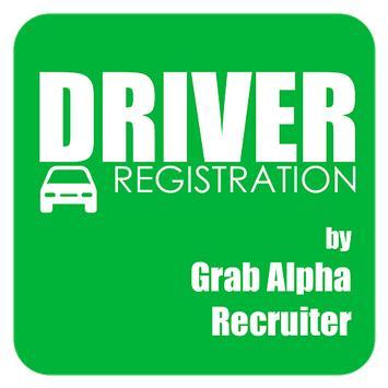 Grab Driver Registration by GA poster