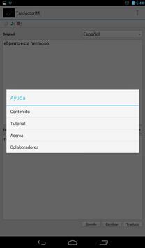 Traductor Idiomas Mayas screenshot 3