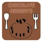 CHOCOLATE DESSERTS RECIPES icon