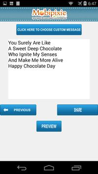 Chocolate day eCards & Greetings apk screenshot