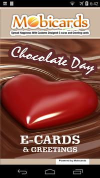 Chocolate day eCards & Greetings poster
