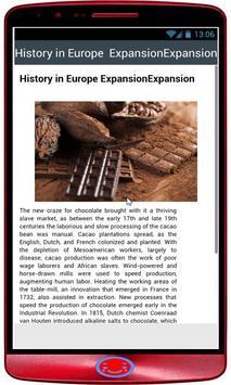 History of chocolate screenshot 1